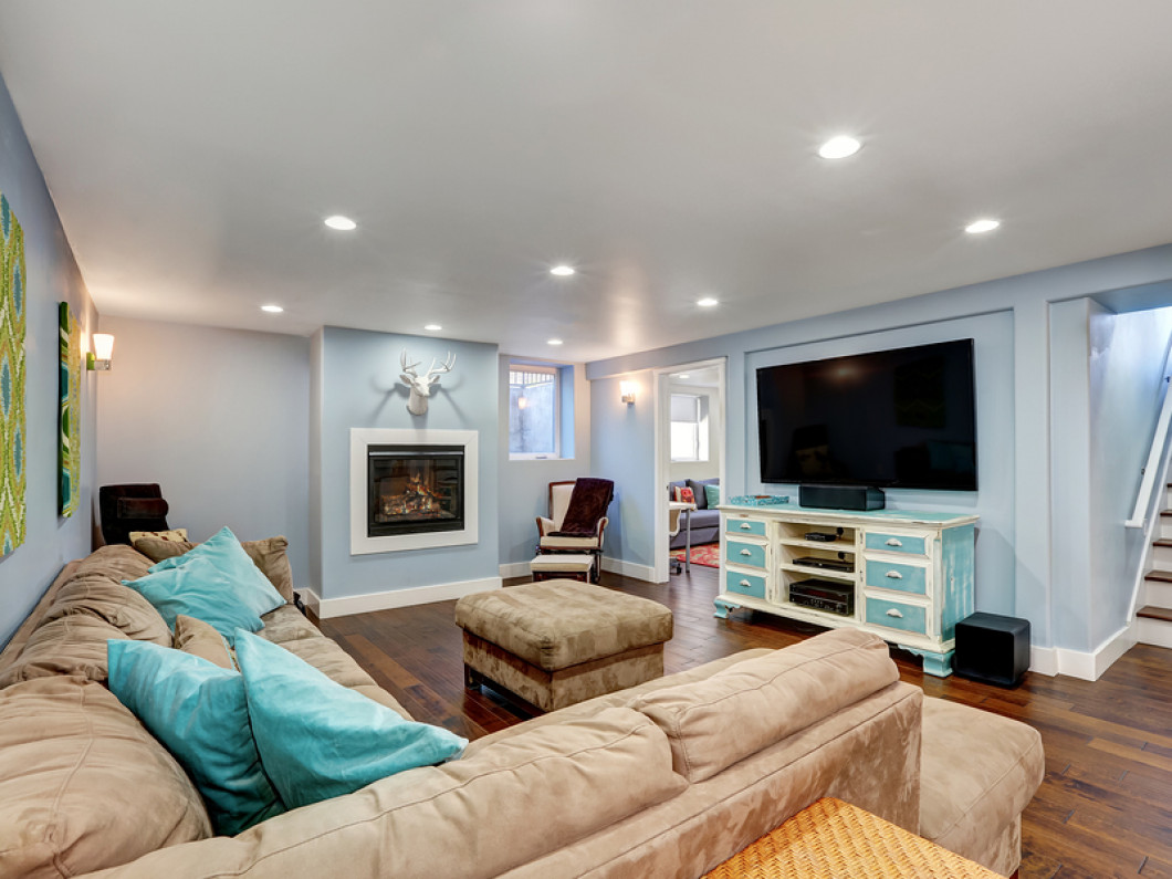 Create a Comfy Basement With Kinsman Construction, Inc.